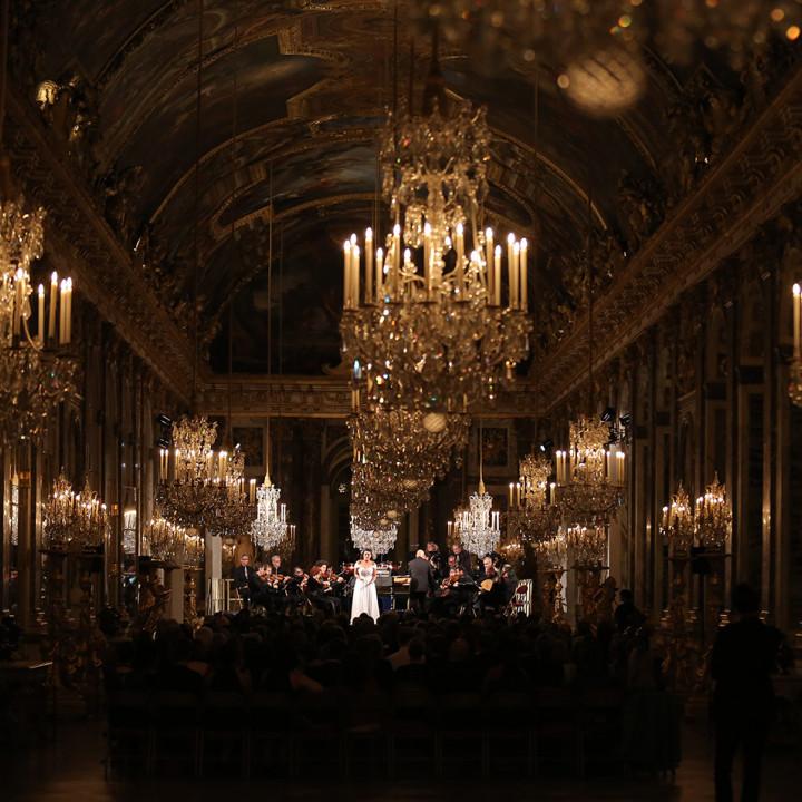 """Cecilia Bartoli in Versailles für die Veröffentlichung von """"St Petersburg"""""""