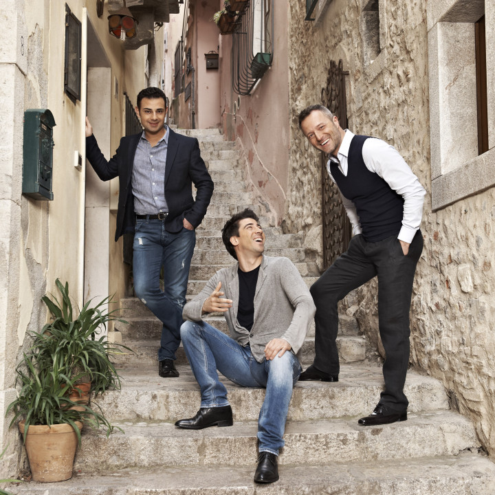 The Italian Tenors — Pressefotos 2014 — 1