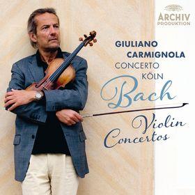 Giuliano Carmignola, Bach: Violin Concertos, 00028947926955