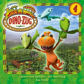 Der Dino-Zug, 04: Zacken und Spitzen / Der Nachtzug / Das Fossil, 00602537579723