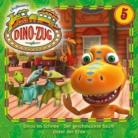 Der Dino-Zug, 05: Dinos im Schnee / Der geschmückte Baum / Unter der Erde, 00602537579730