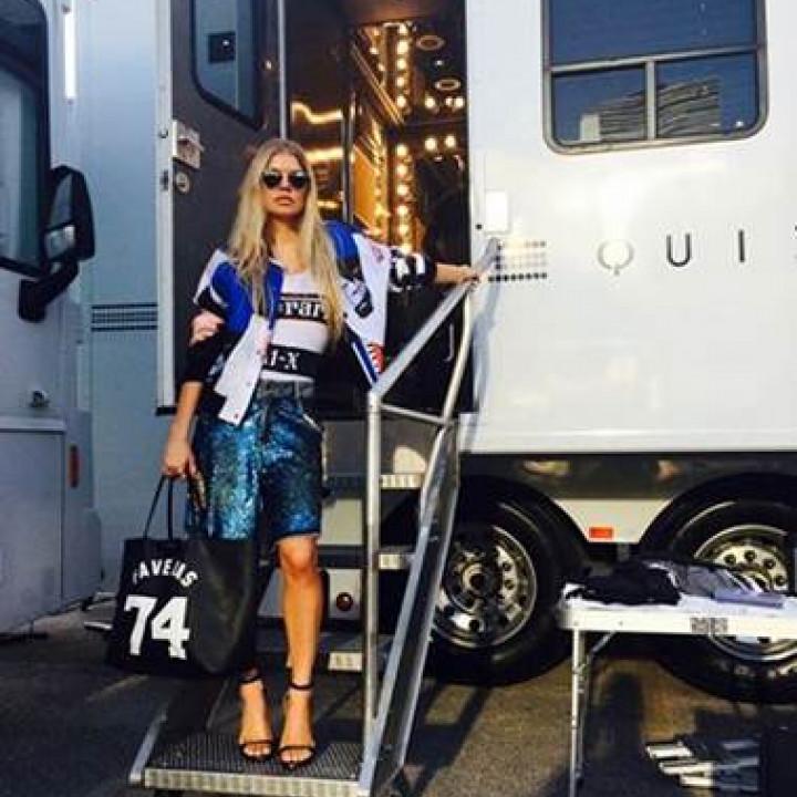 "Fergie – Bilder Videoshooting ""L.A.Love (la la) – 2"