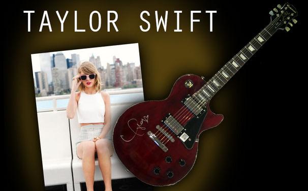 Taylor Swift, Jetzt gewinnen: Sichert euch eine von Taylor Swift persönlich signierte Gitarre