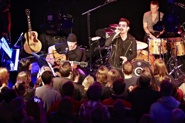 U2 Unplugged & Talk Oberhausen 2014