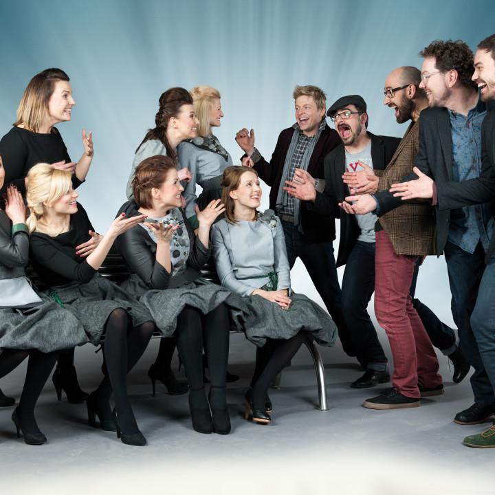 Viva Voce & Latvian Voices – Pressebilder 2014 − 1