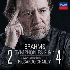 Riccardo Chailly, Brahms: Symphonien Nr. 2 & 4, 00028947869016