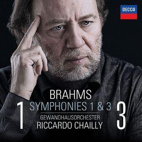 Riccardo Chailly, Brahms: Symphonien Nr. 1 & 3, 00028947869009