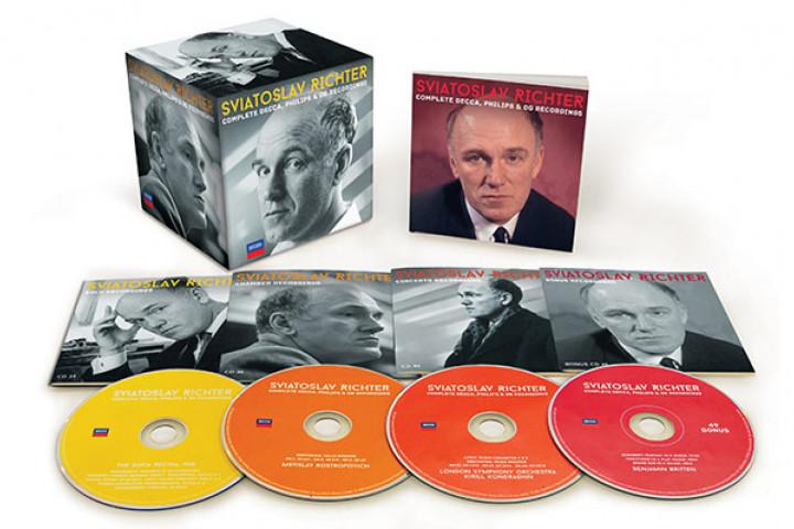 Sviatoslav Richter: The Complete Decca, Philips & DG Recordings