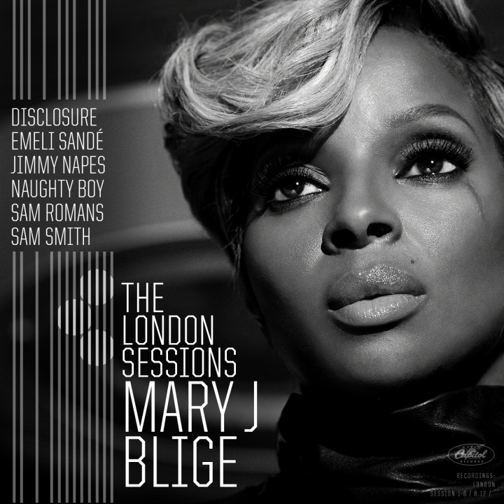 Mary J. Blige - The London Sessions - CD Cover