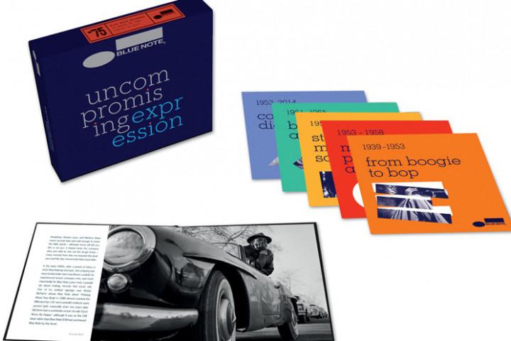 Uncompromising Expression: CD-Box und Buch
