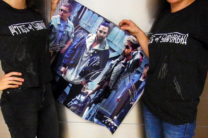 Tokio Hotel-Shirts und Poster-Gewinnspiel-2014