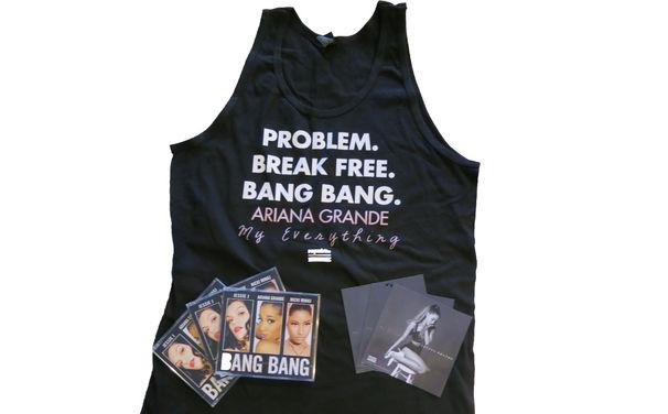 Ariana Grande, T-Shirt, Magnet, CD: Sichert euch jetzt euer Ariana Grande Fanpaket