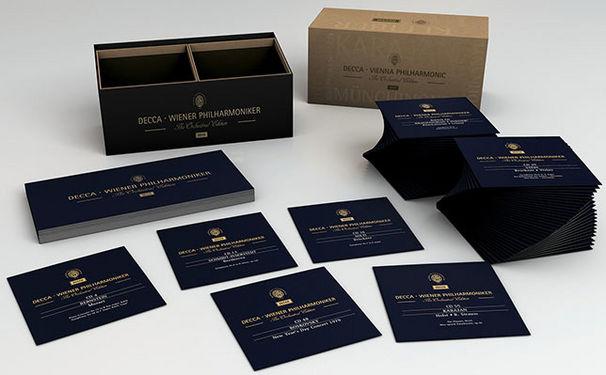 Box-Sets und Editionen, Konzert- und Orchesteraufnahmen der Wiener Philharmoniker auf CD und Vinyl