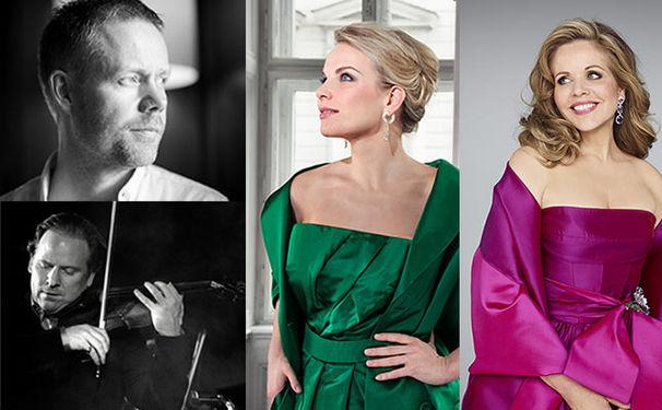 Diverse Künstler, Daniel Hope, Elina Garanča und Renée Fleming feiern 25 Jahre ohne Mauer!