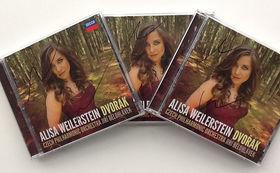 Alisa Weilerstein, Wir verlosen 3 signierte Alben Dvořák von Alisa Weilerstein