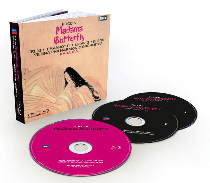 Madama Butterfly mit Luciano Pavarotti
