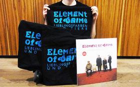 Element Of Crime, Platten in Taschen: Gewinnt schön verpackte Vinyls Lieblingsfarben und Tiere