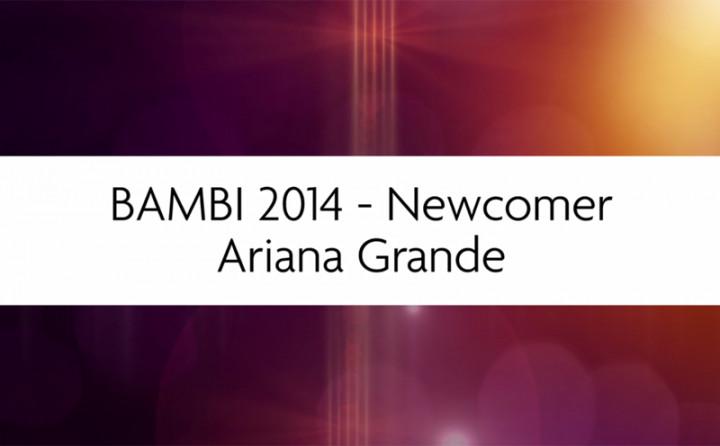 Ariana Grande beim Bambi 2014 (Trailer)