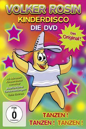 Volker Rosin, Kinderdisco - Das Original! - Die DVD, 00602547088604