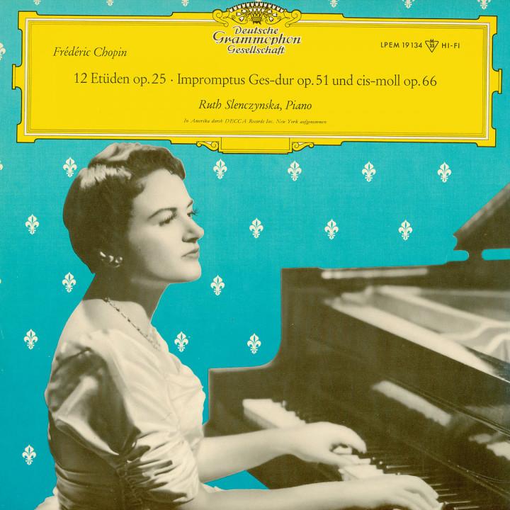 Chopin: 12 Etudes op. 25 / Impromptus op. 51 & 66