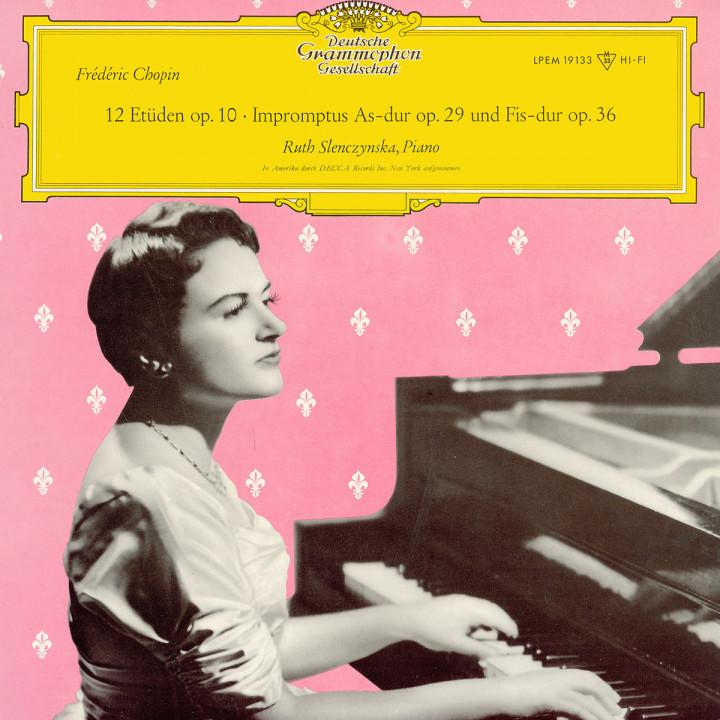 Chopin: 12 Etudes op. 10 / 2 Impromptus op. 29 & 36
