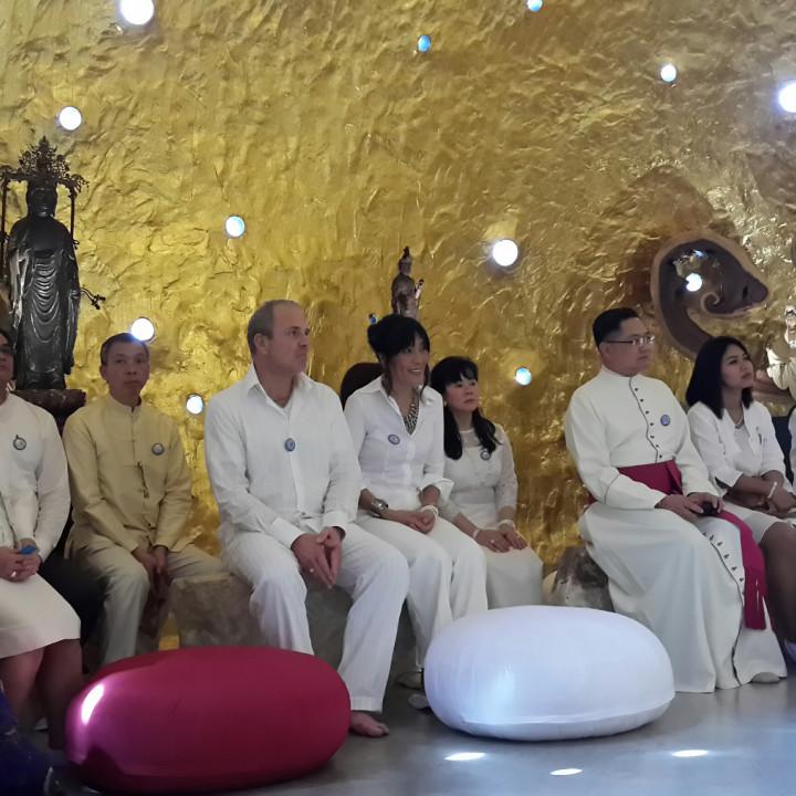Award Verleihung im TARA Tempel