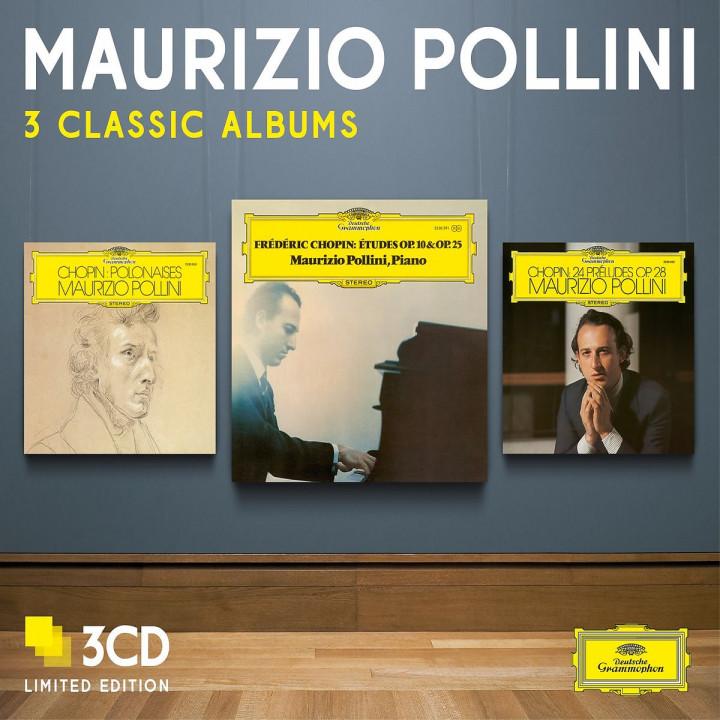 Maurizio Pollini - Three Classic Albums