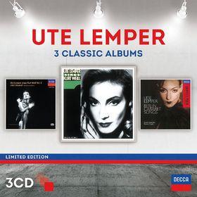 DG3, Ute Lemper - Three Classic Albums, 00028947871590