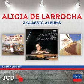 DG3, Alicia de Larrocha - Three Classic Albums, 00028947871552