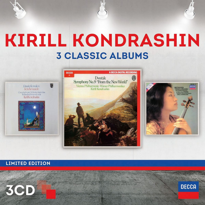 Kirill Kondrashin - Three Classic Albums