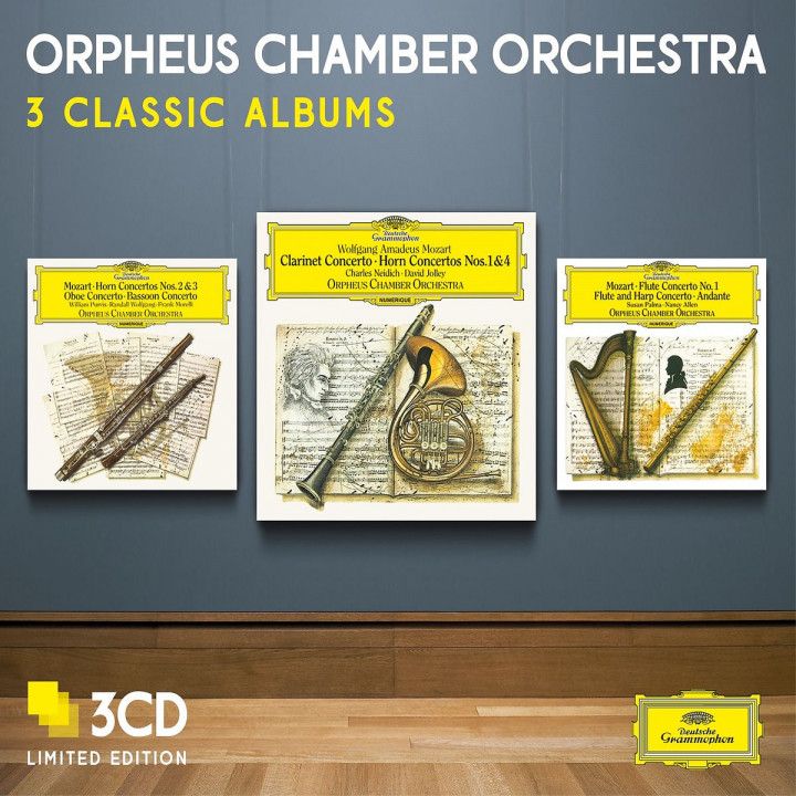Orpheus Chamber Orchestra - Three Classic Albums