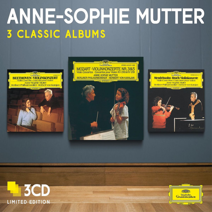 Anne-Sophie Mutter - Three Classic Albums
