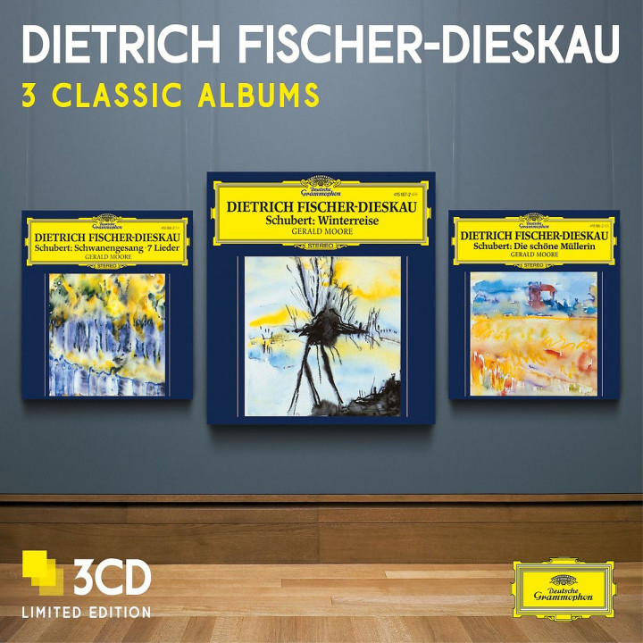 Dietrich Fischer-Dieskau - Three Classic Albums