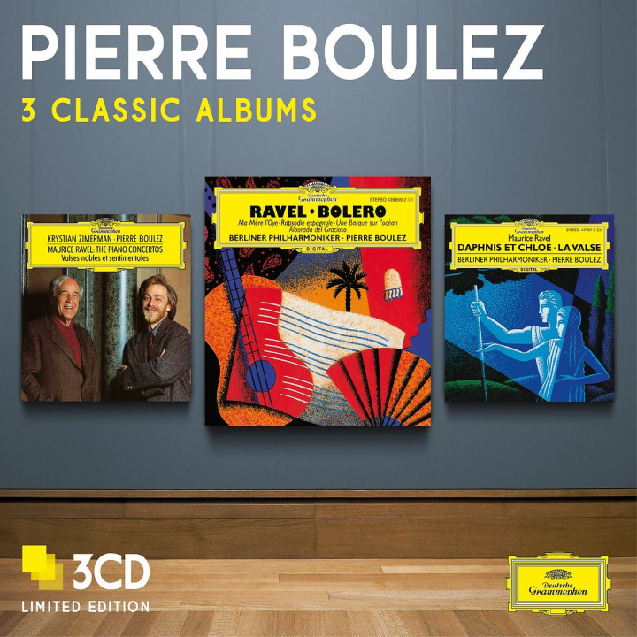 Pierre Boulez - Three Classic Albums