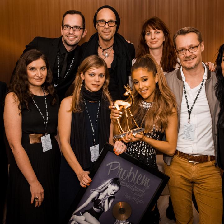 Ariana Grande beim BAMBI 2014