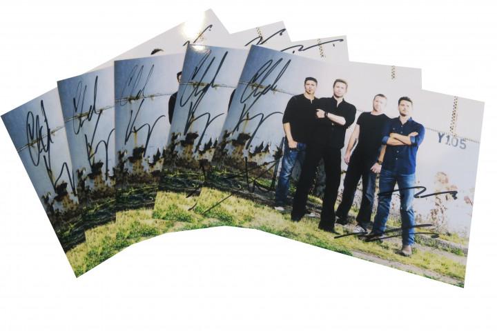 Nickelback - Autogrammkarten Gsp - 2014