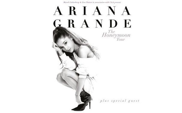 Ariana Grande, Frühsommer 2015: Ariana Grande kommt für zwei Konzerte nach Deutschland
