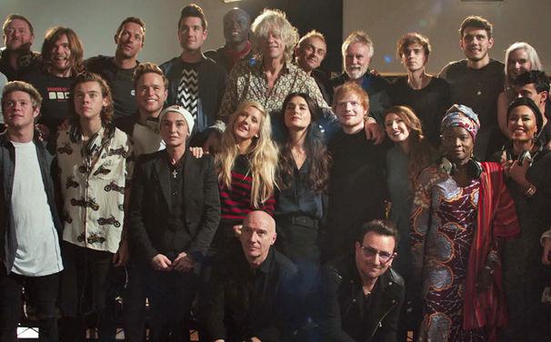 Band Aid 30, Band Aid 30 - Gruppenbild - Video 2014