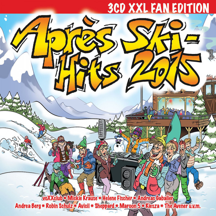 Après Ski Hits 2015 - 3CD XXL Fan Edition