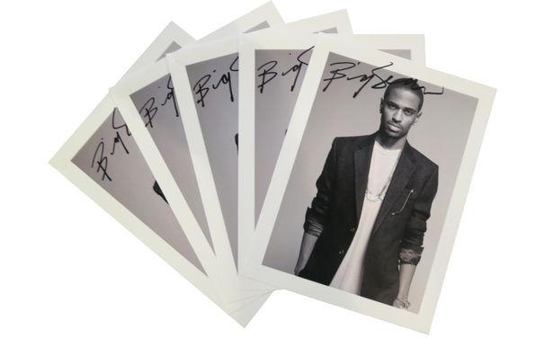 Big Sean, Gewinnt jetzt eure signierte Autogrammkarte von Big Sean