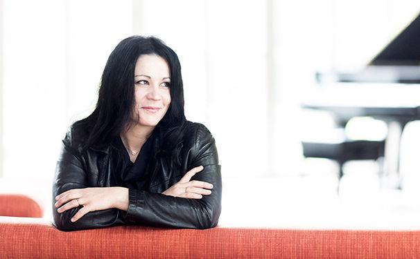 Anna Gourari, Anna Gourari stellt ihr neues Album Visions fugitives im Münchner Herkulessaal vor
