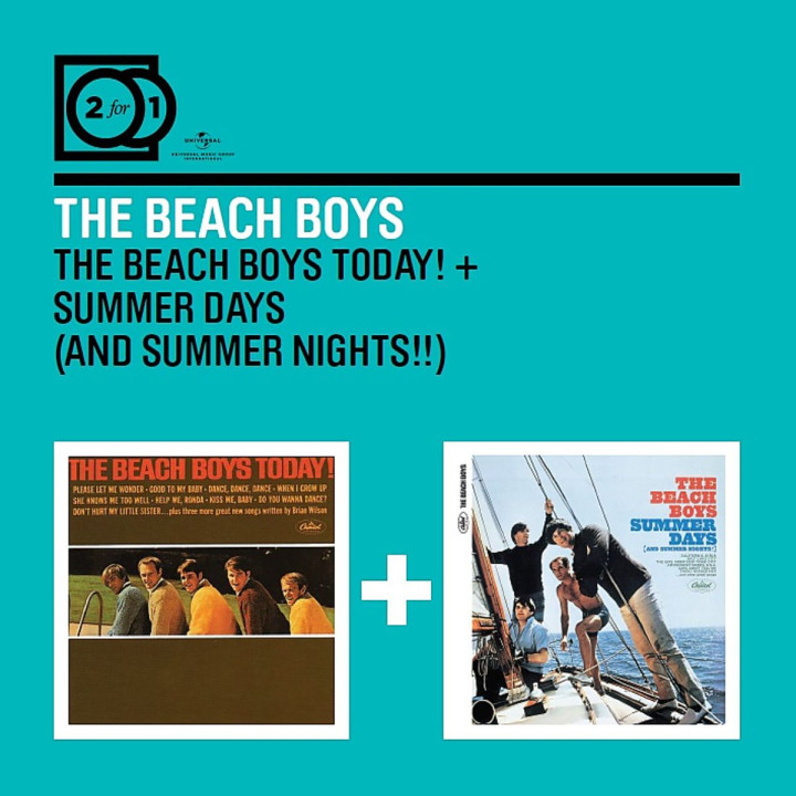 2 For 1: The Beach Boys Today! / Summer Days (And Summer Nights!!)