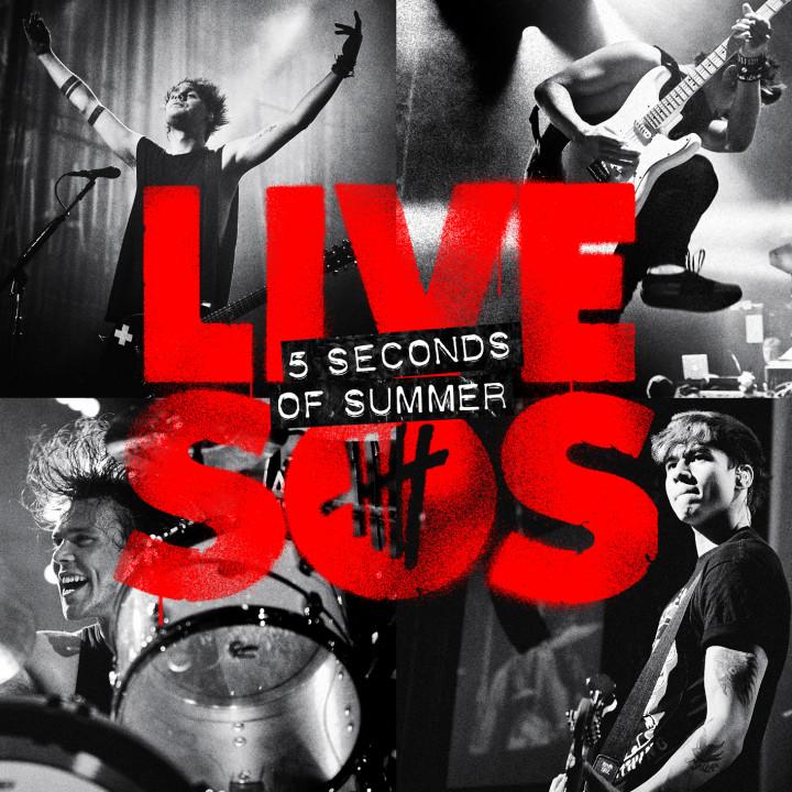 LIVESOS 5 Seconds Of Summer 2014 Album-Cover