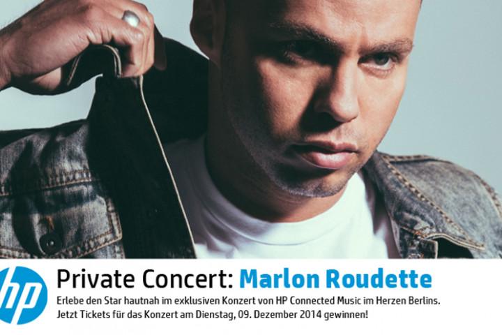 Marlon Roudette - HP Privatkonzert