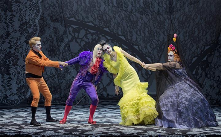 Don Giovanni in der Inszenierung von Herbert Fritsch