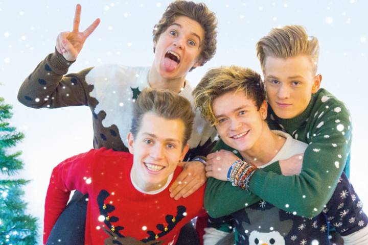 The Vamps Meet The Vamps Christmas Edition 2014 Cover Ausschnitt