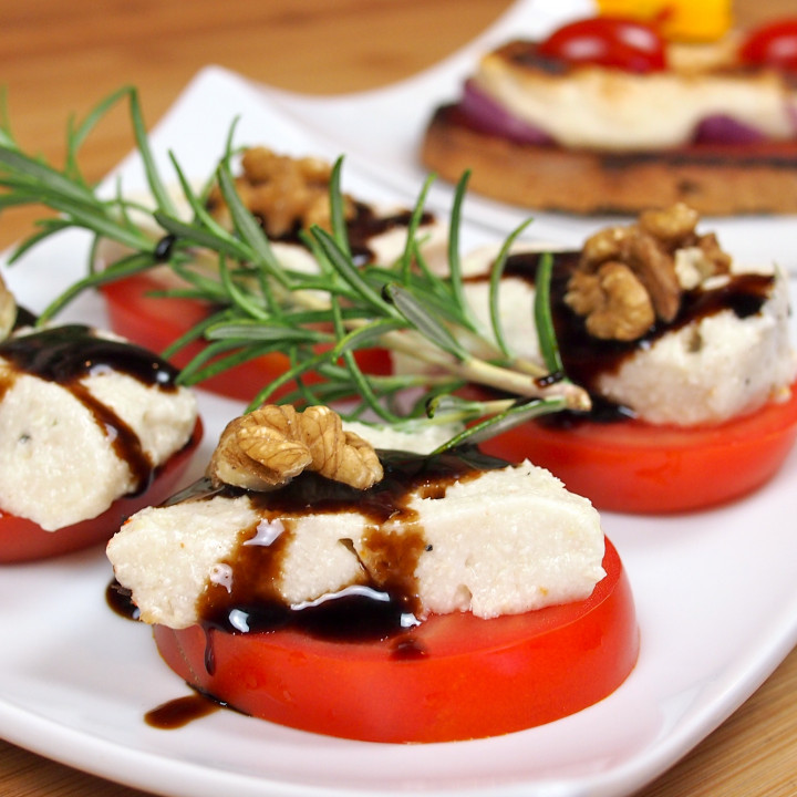 Veganer Mozzarella für jede Gelegenheit ©Lars Peter Lueg – Rohe Energie