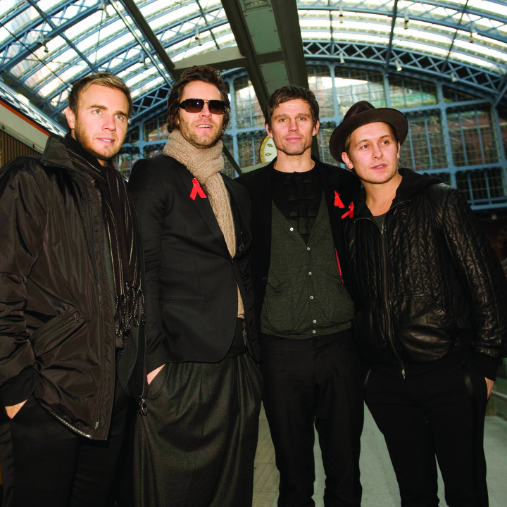 Take That — Paris — 2008