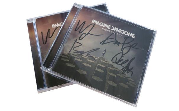 Imagine Dragons, Jetzt gewinnen: Das Imagine Dragons Album Night Visions von der Band signiert