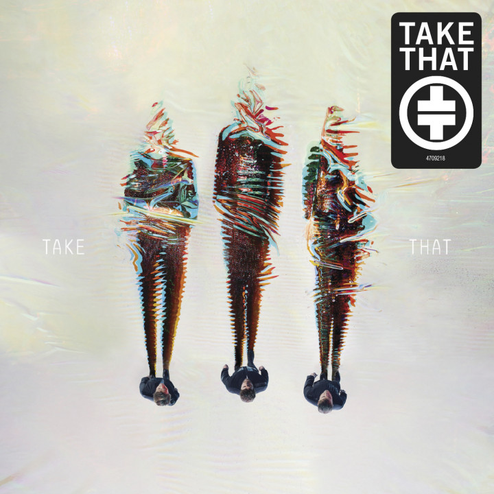 Take That - III Cover - 2014 mit Sticker